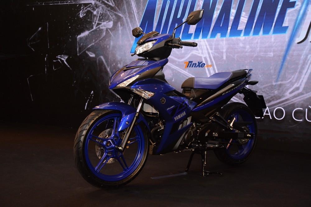 Yamaha Exciter 150 2019 tăng kích thước ở chiều dài và cao so với bản cũ