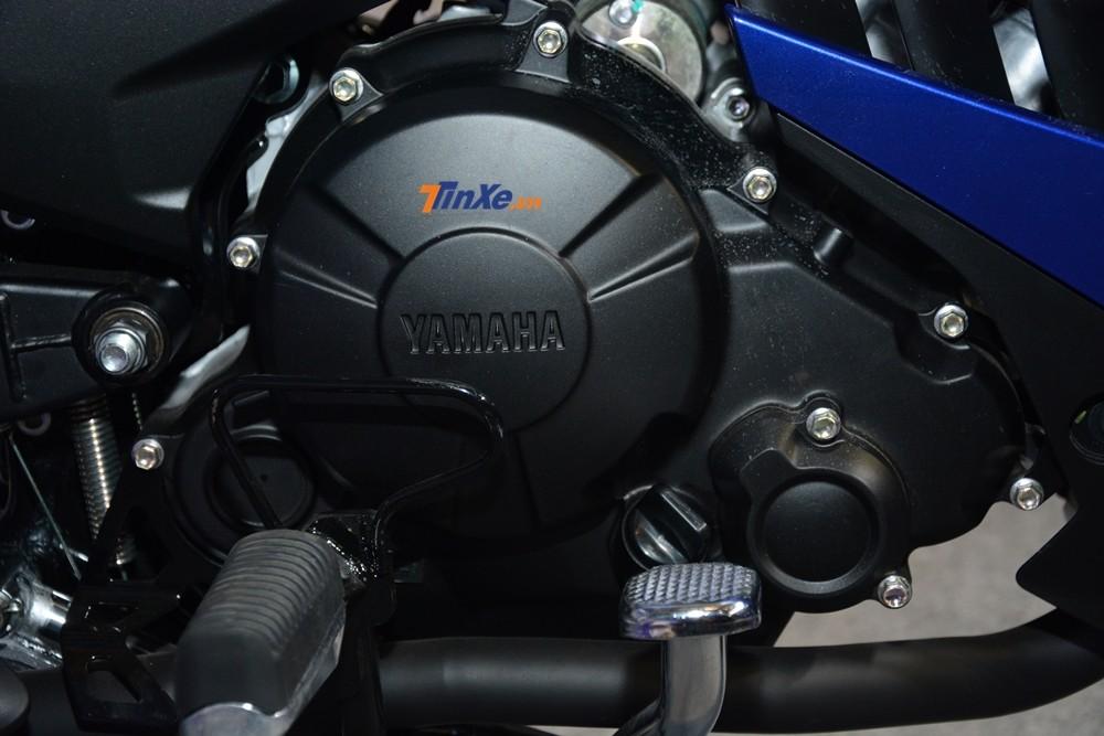 Thậm chí động cơ SOHC 4 thì, xi lanh đơn 150 phân khối của phiên bản cũ được bê toàn bộ qua Yamaha Exciter 150 2019