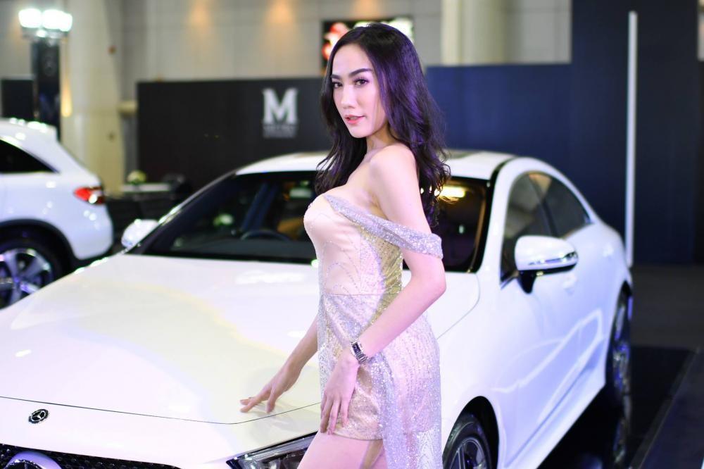 """Ngắm các """"bóng hồng"""" Thái Lan xinh tươi mơn mởn tại Bangkok Auto Salon 2018 - 12"""