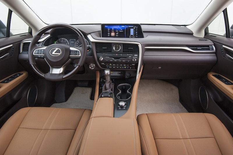Nội thất Lexus RX