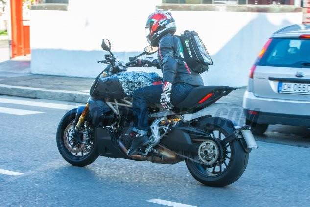 Lộ thêm ảnh nóng, Ducati Diavel 2019 đã sẵn sàng ra mắt