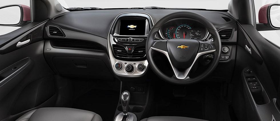 Nội thất của Chevrolet Spark 2019 tại Indonesia