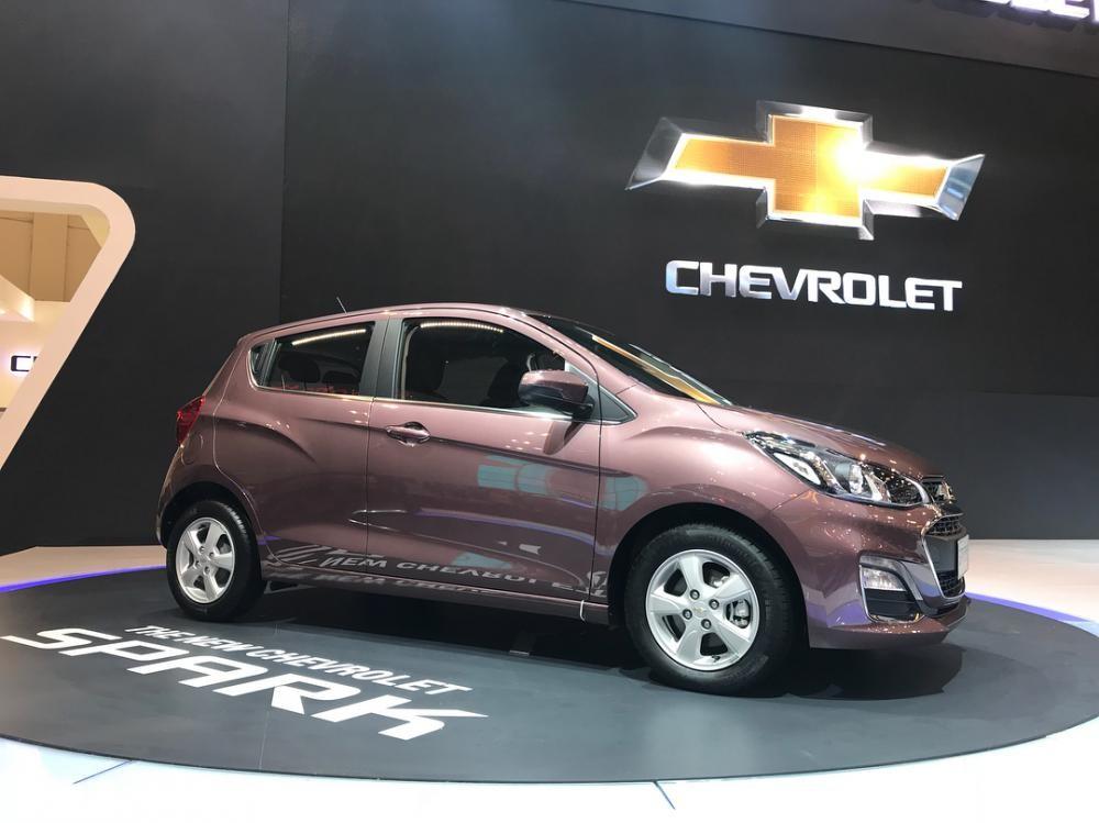 Chevrolet Spark 2019 tại Indonesia dùng vành 14 inch 5 chấu
