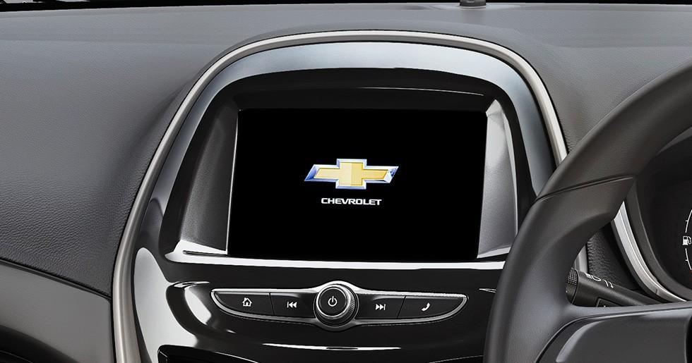 Màn hình thông tin giải trí của Chevrolet Spark 2019