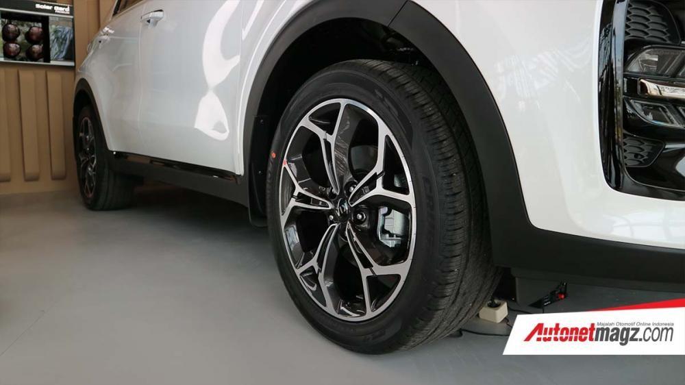 Bộ vành 19 inch của Kia Sportage GT-Line 2019