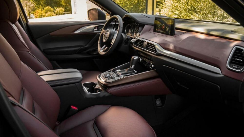 Nội thất bên trong Mazda CX-9 2019
