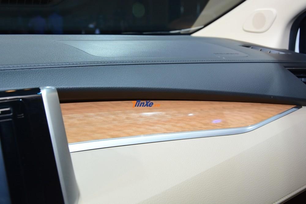 Một số chi tiết nội thất Mitsubishi Xpander 2018 được giả gỗ
