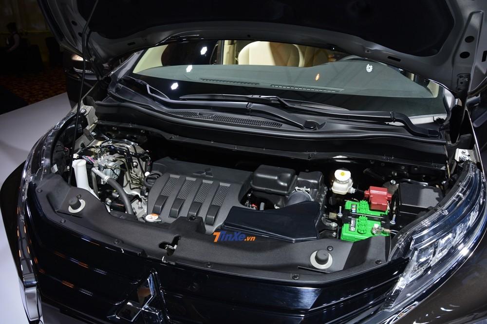 Mitsubishi Xpander 2018 được trang bị động cơ xăng 4 xi-lanh, DOHC 16 van, dung tích 1.5 lít