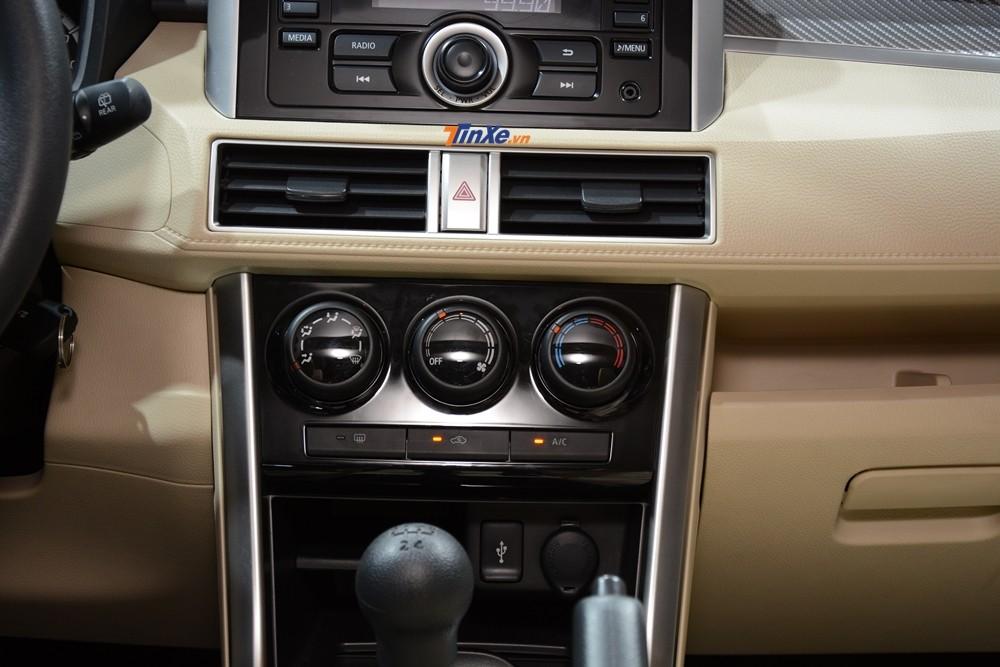 Điều hoà nhiệt độ trên Mitsubishi Xpander 2018 chỉnh tay