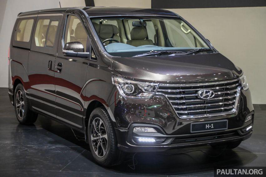 Hyundai Grand Starex có tên khác là Hyundai H-1 tại Indonesia