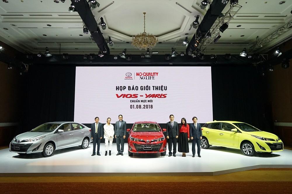 Toyota Vios 2018 vừa ra mắt