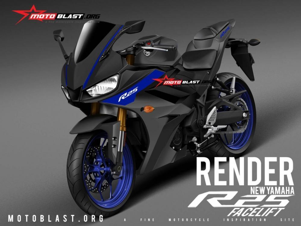 Thiết kế dự kiến của Yamaha R25 2019