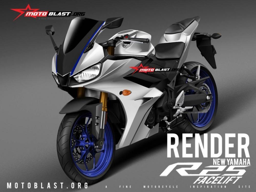 Yamaha R3 2019 cũng sẽ mang thiết kế tương tự