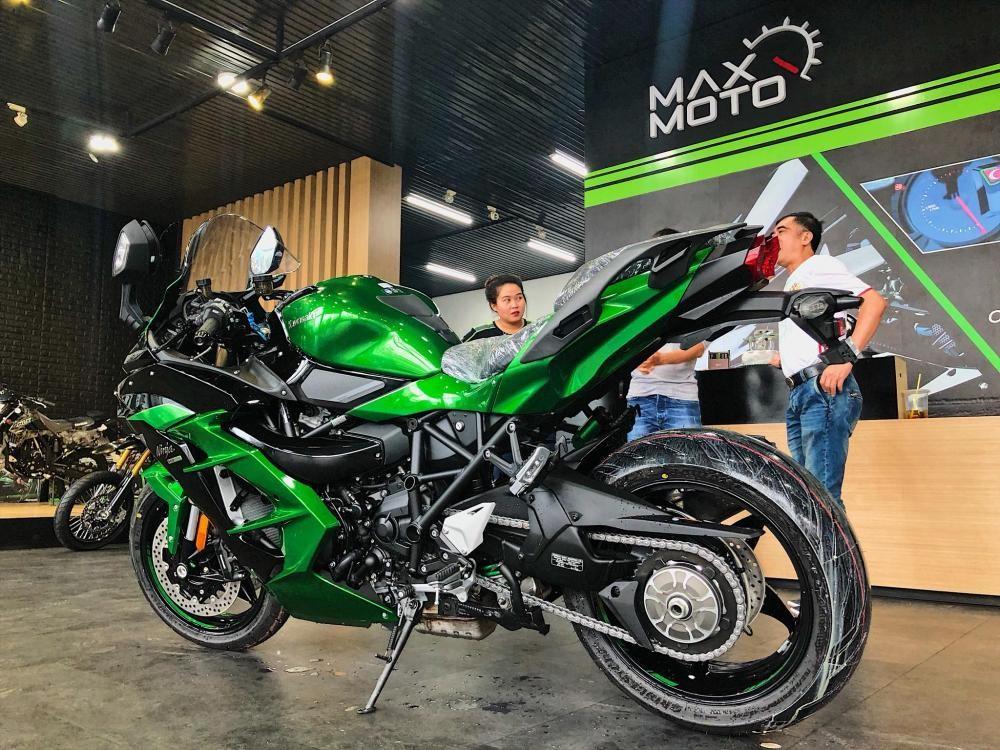 đánh Giá Nhanh Kawasaki Ninja H2 Sx Se đầu Tiên Tại Việt Nam
