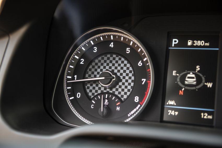 Bảng đồng hồ mới của Hyundai Elantra 2019
