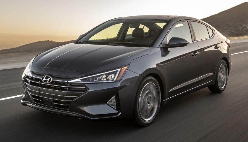 Hyundai Elantra 2019 gần như lột xác ở thiết kế ngoại thất