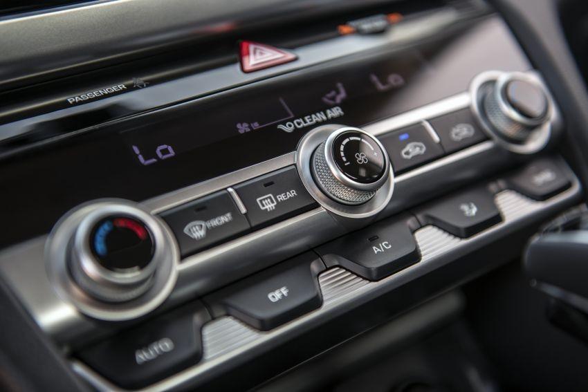 Bảng điều khiển điều hòa thay đổi thiết kế của Hyundai Elantra 2019