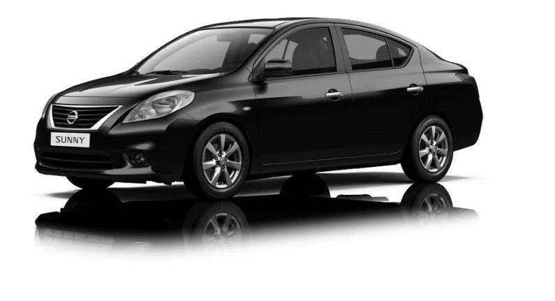 Ngoại thất Nissan Sunny màu đen