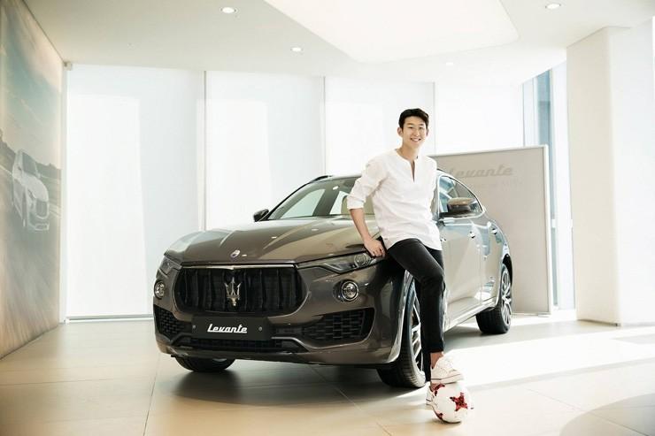 Son Heung-min làm gương mặt thương hiệu cho Maserati Levante