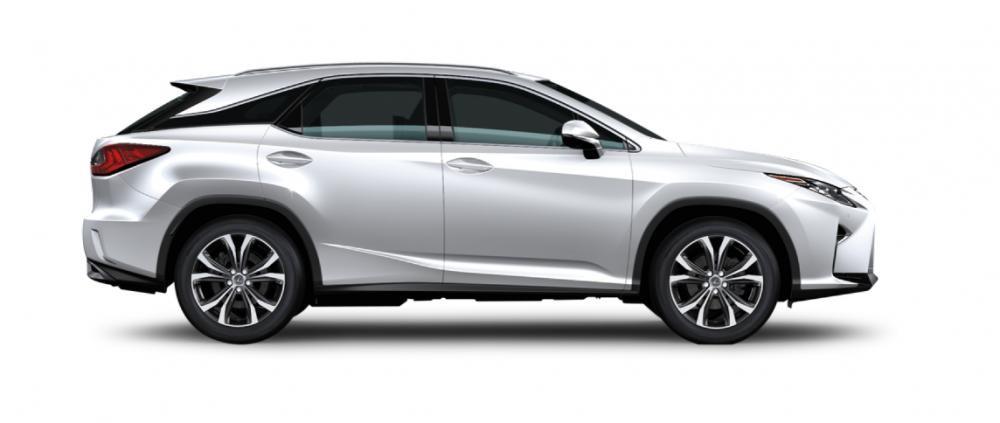 Ngoại thất Lexus RX màu trắng
