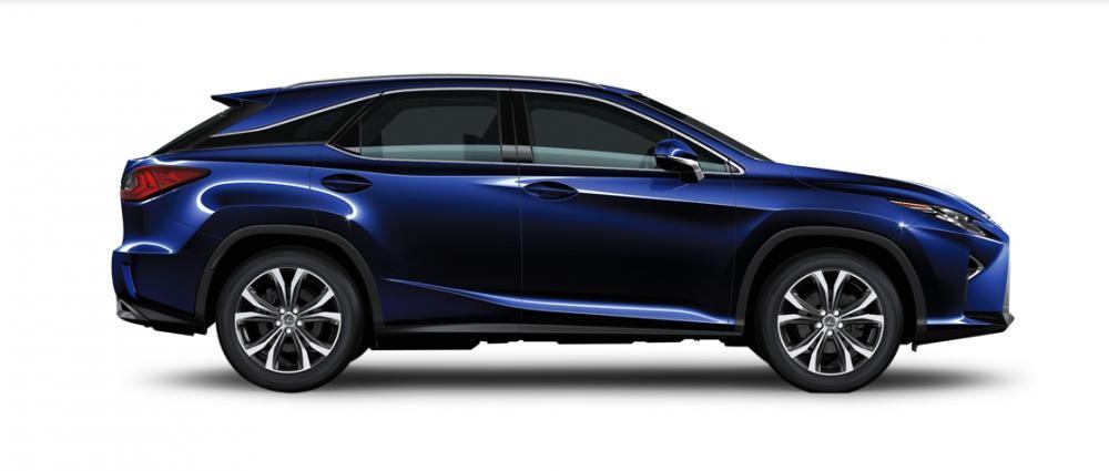 Ngoại thất Lexus RX màu xanh