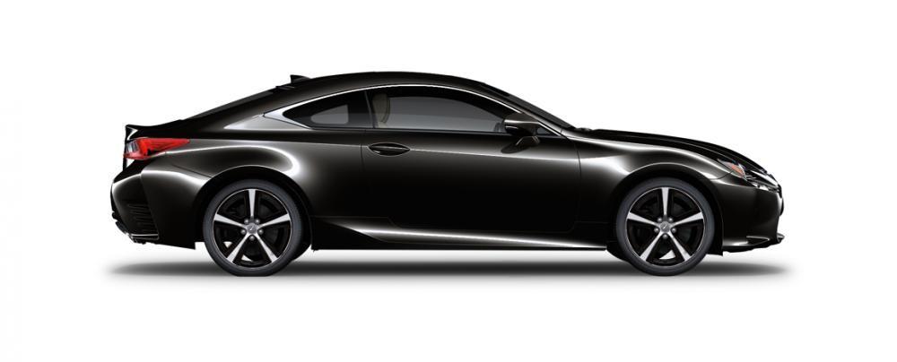 Ngoại thất của Lexus RC màu xám đen