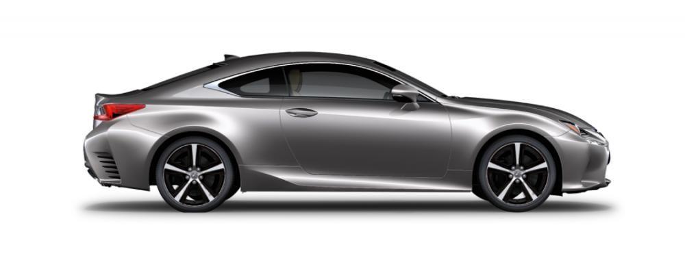 Ngoại thất của Lexus RC màu ghi