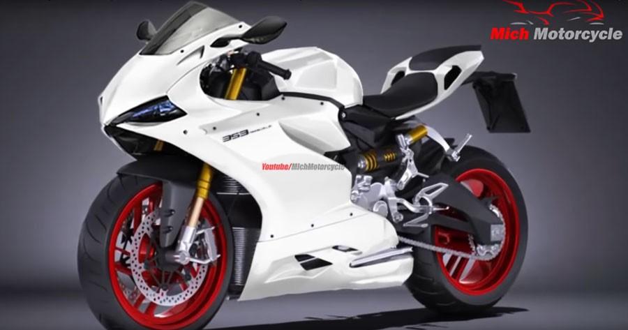 Hình ảnh chiếc Ducati Panigale 353 từ Mich Motorcycle