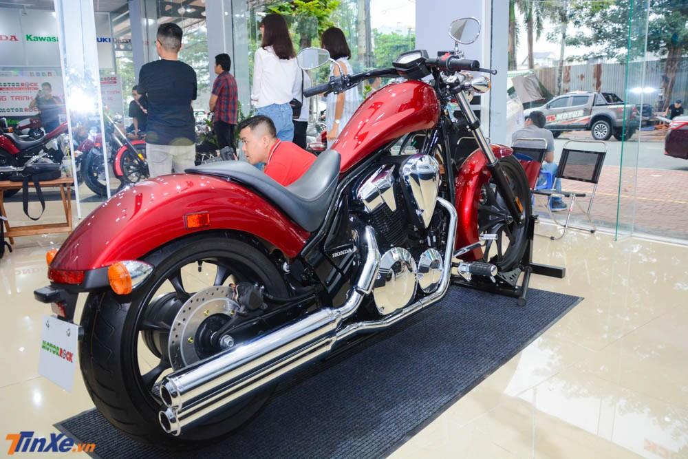 Mẫu xe này được trình làng vào năm 2009 đã gây ấn tượng cho không ít biker trên thế giới