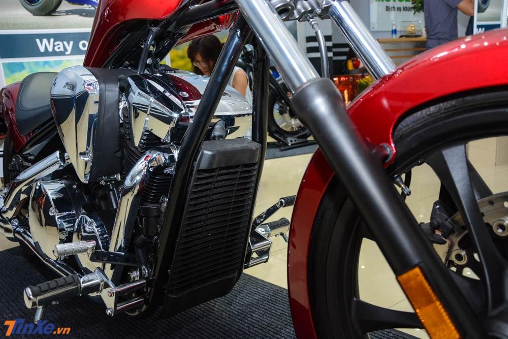 Honda Fury đời 2018 vẫn sử dụng hệ thống khung ống