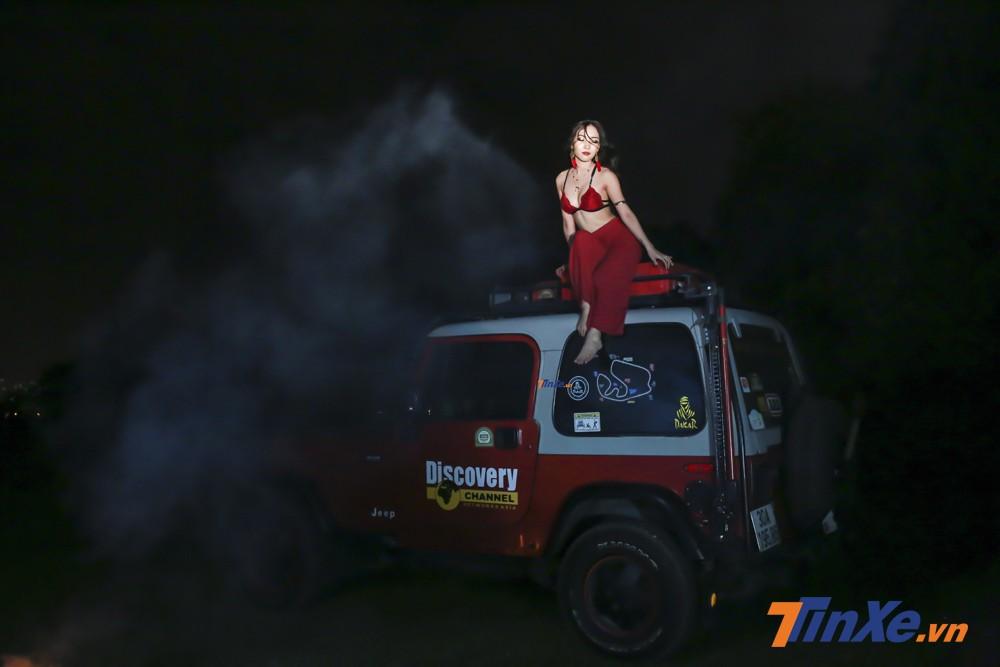"""Ngẩn ngơ với """"vũ điệu lửa"""" của cô nàng váy đỏ - 8"""