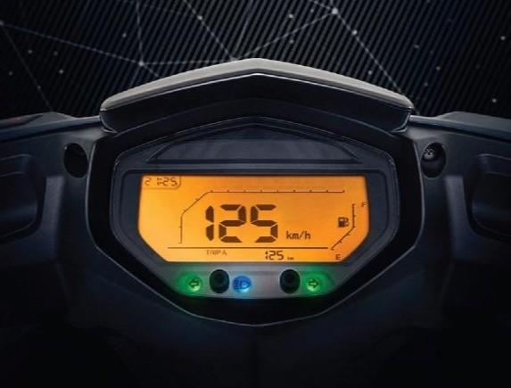Benelli VZ125i sở hữu đồng hồ kỹ thuật số hiện đại
