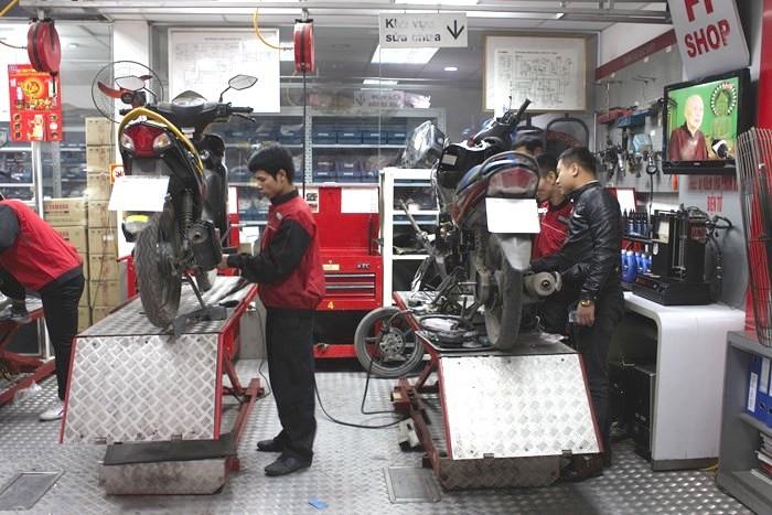 Bảo dưỡng xe thường xuyên tại các cơ sở uy tín giúp hệ thống vận hành bền bỉ hơn