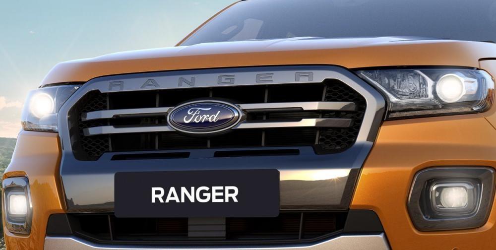 Ford Ranger mới sở hữu mặt ca-lăng gọn gàng và sáng sủa