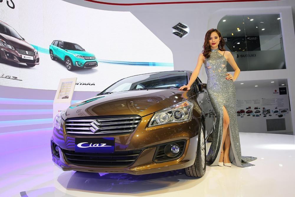 Ciaz và Captiva là hai mẫu xe doanh số thấp nhất thị trường