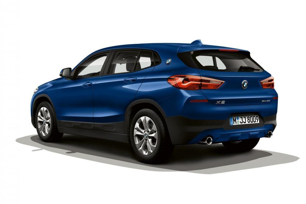 BMW X2 Advantage Plus 2019 đi kèm bộ vành 18 inch màu xám