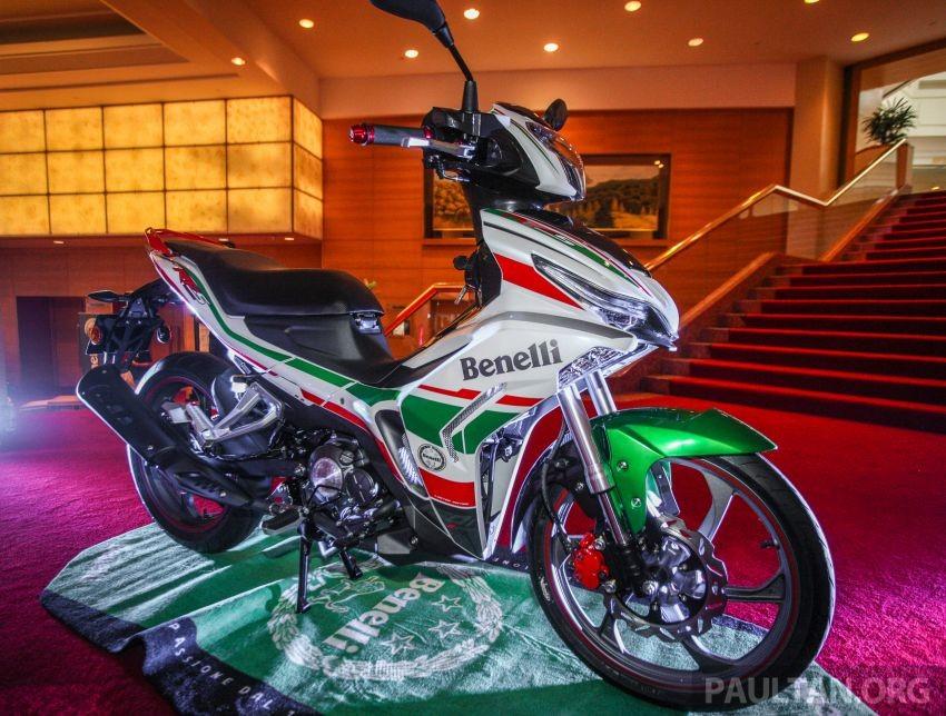 Benelli RFS150i Limited Edition là phiên bản giới hạn với dàn áo 3 màu lấy phong cách cờ Ý