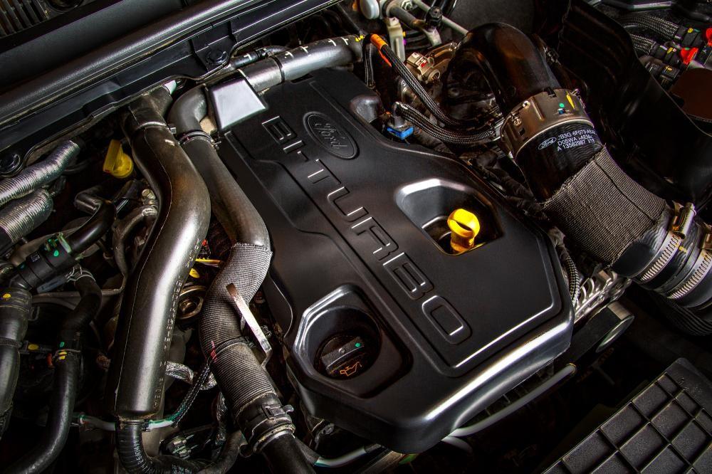 Động cơ 2.0 Bi-Turbo trên Ranger Wildtrak 4x4