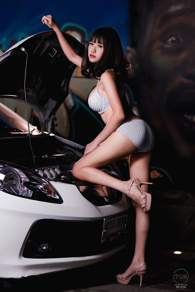 """Bỏng mắt trước nhan sắc của người mẫu Thái Lan có khuôn mặt """"baby"""" - 9"""