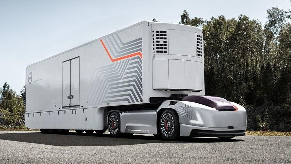Volvo Vera có một thiết kế đậm tính tương lai và loại bỏ hoàn toàn sự can thiệp của một tài xế thông thường