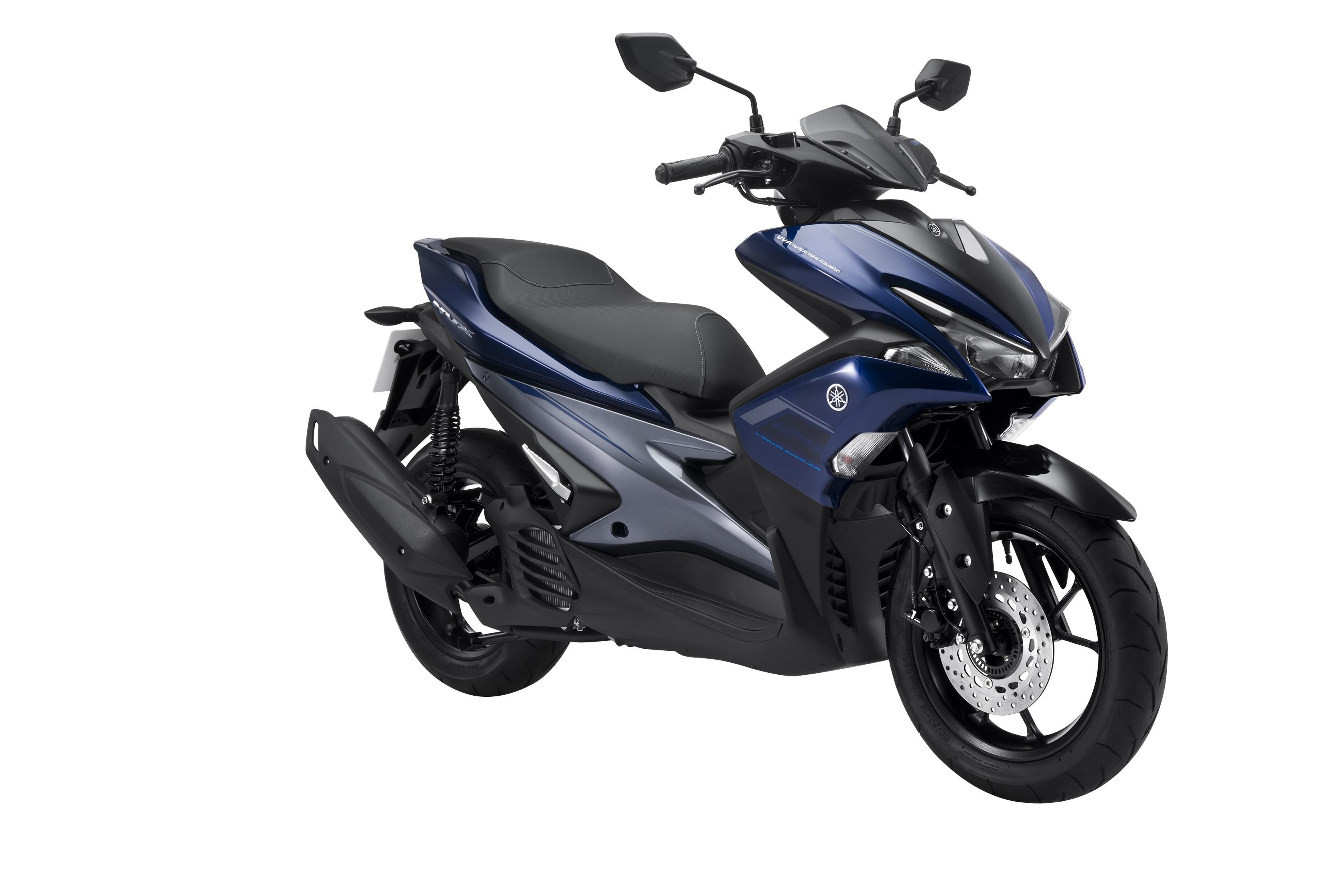 Yamaha NVX 125 Deluxe màu Xanh Xám Đen