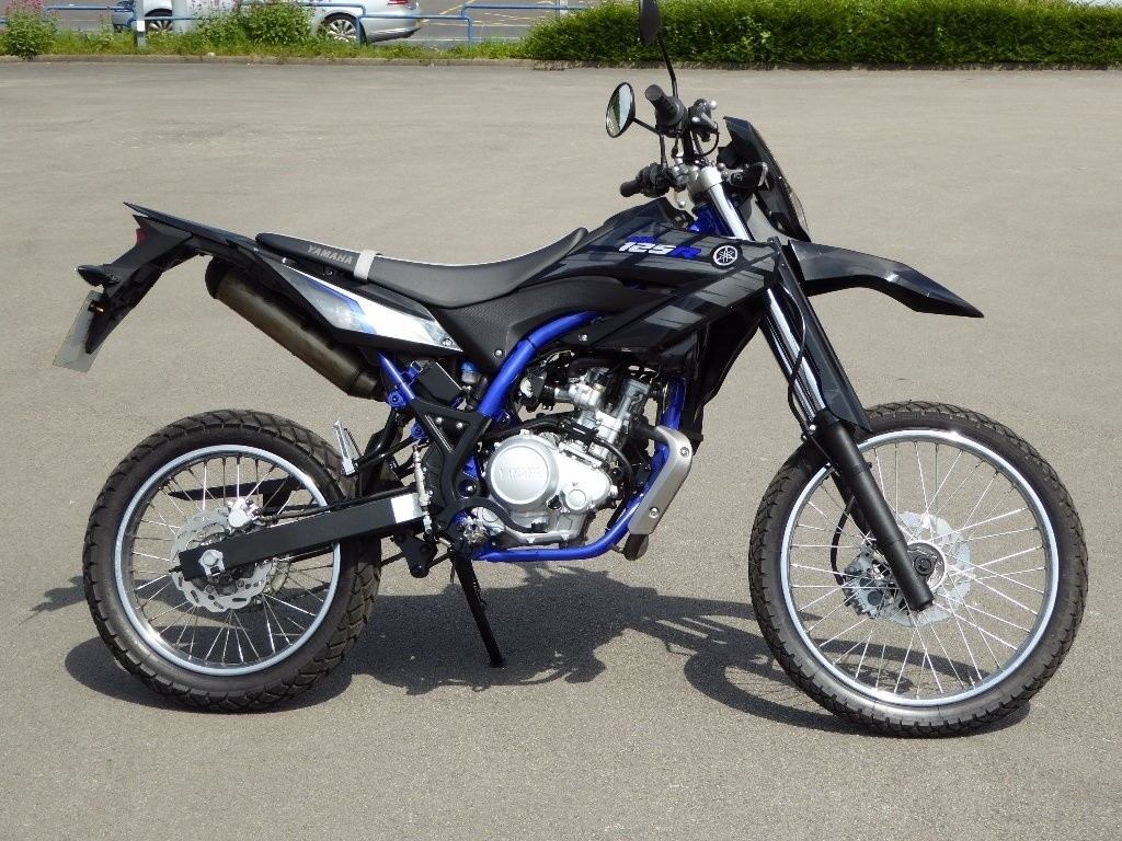 Yamaha WR125R in Europe