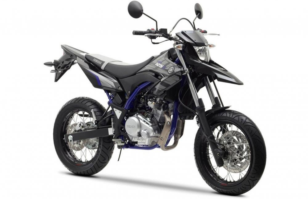 Yamaha WR125X in Europe, supermoto version of WR125R