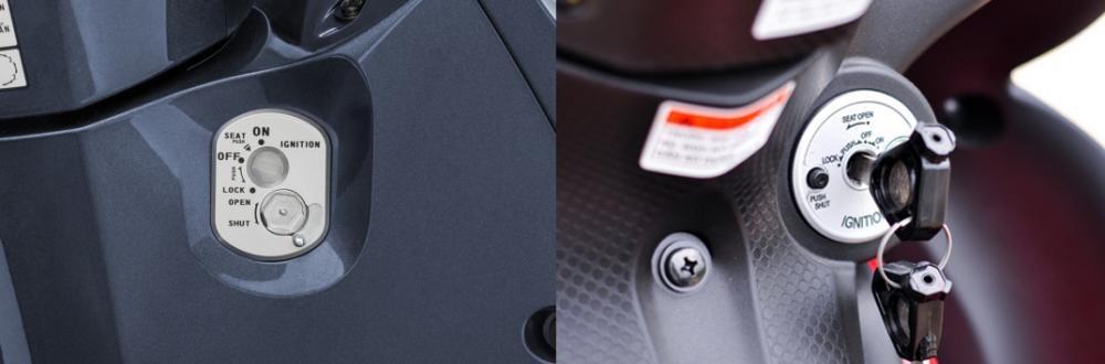 Ổ khóa Honda Future và Yamaha Jupiter