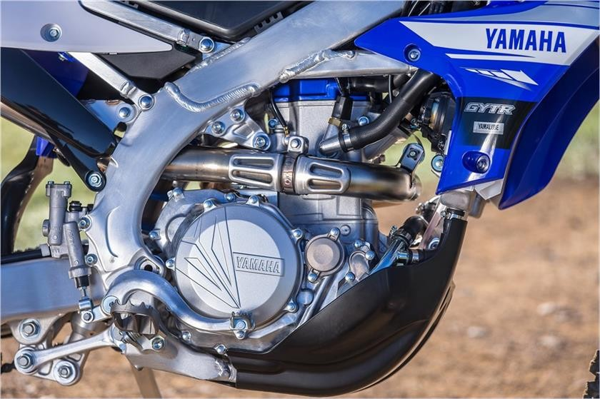 The powerful and prestigious machine of WR450F 2019