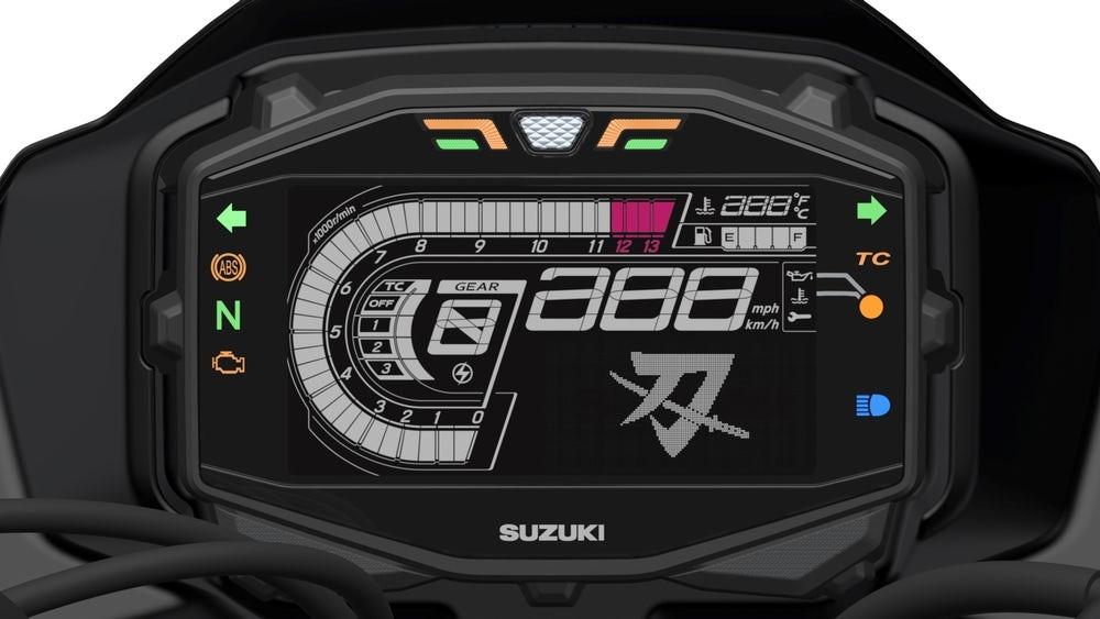 Đồng hồ của Suzuki Katana 2019