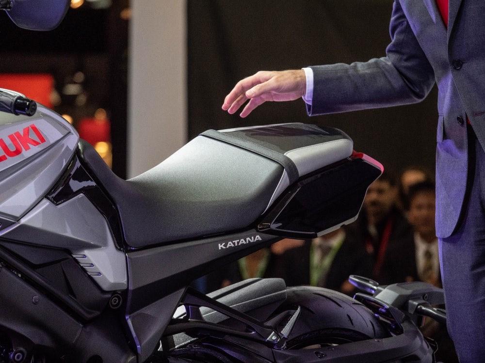 Sức mạnh của Katana được trang bị cỗ máy 1000cc
