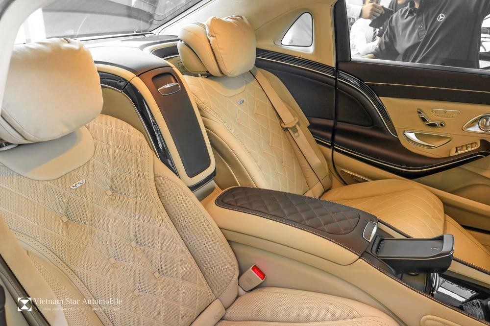 Nội thất Mercedes-Maybach S650 2018