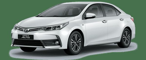Toyota Corolla Altis màu trắng ngọc trai