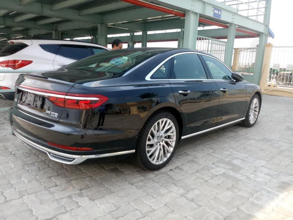 Audi A8 2018 tăng nhẹ kích thước so với trước